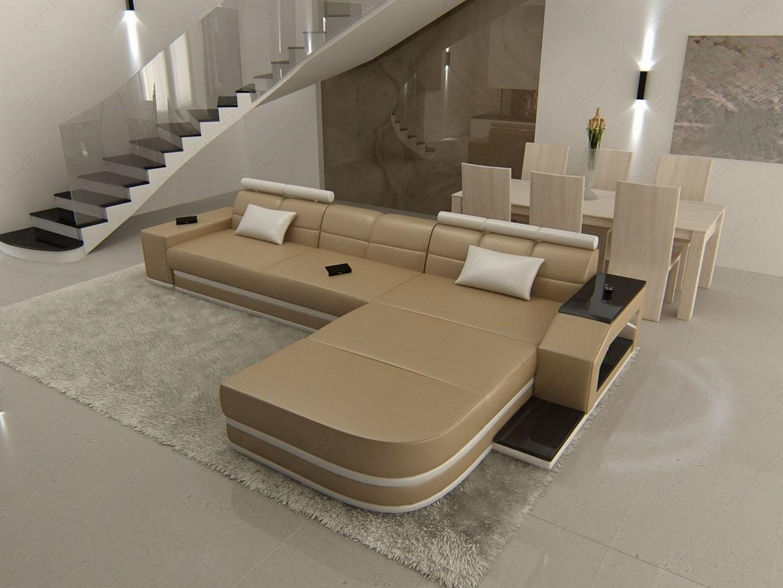 ecksofa mit beleuchtung sofa mit schlaffunktion von loftscape bei home24 bestellen design. Black Bedroom Furniture Sets. Home Design Ideas