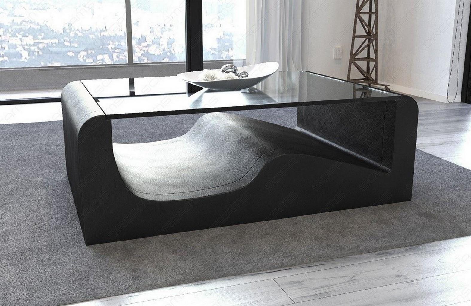 wohnzimmer couch leder:Pin Couchtisch Leder Design Couch Wohnzimmer Tisch Braun Loungetisch