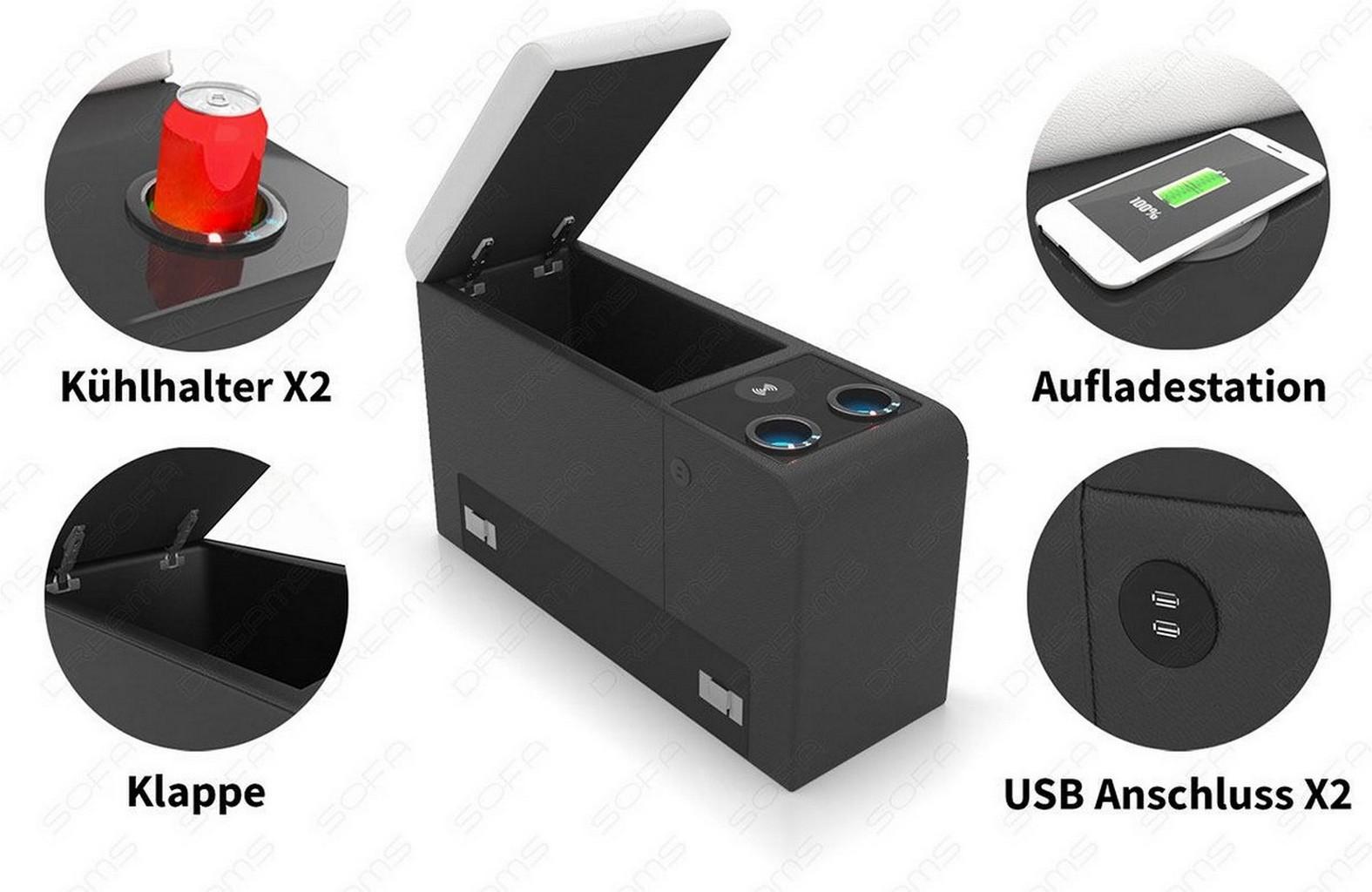 Mini Kühlschrank Mit Usb Anschluss : Zusatzelement für sofadreams sofas kühlschrank kühlende