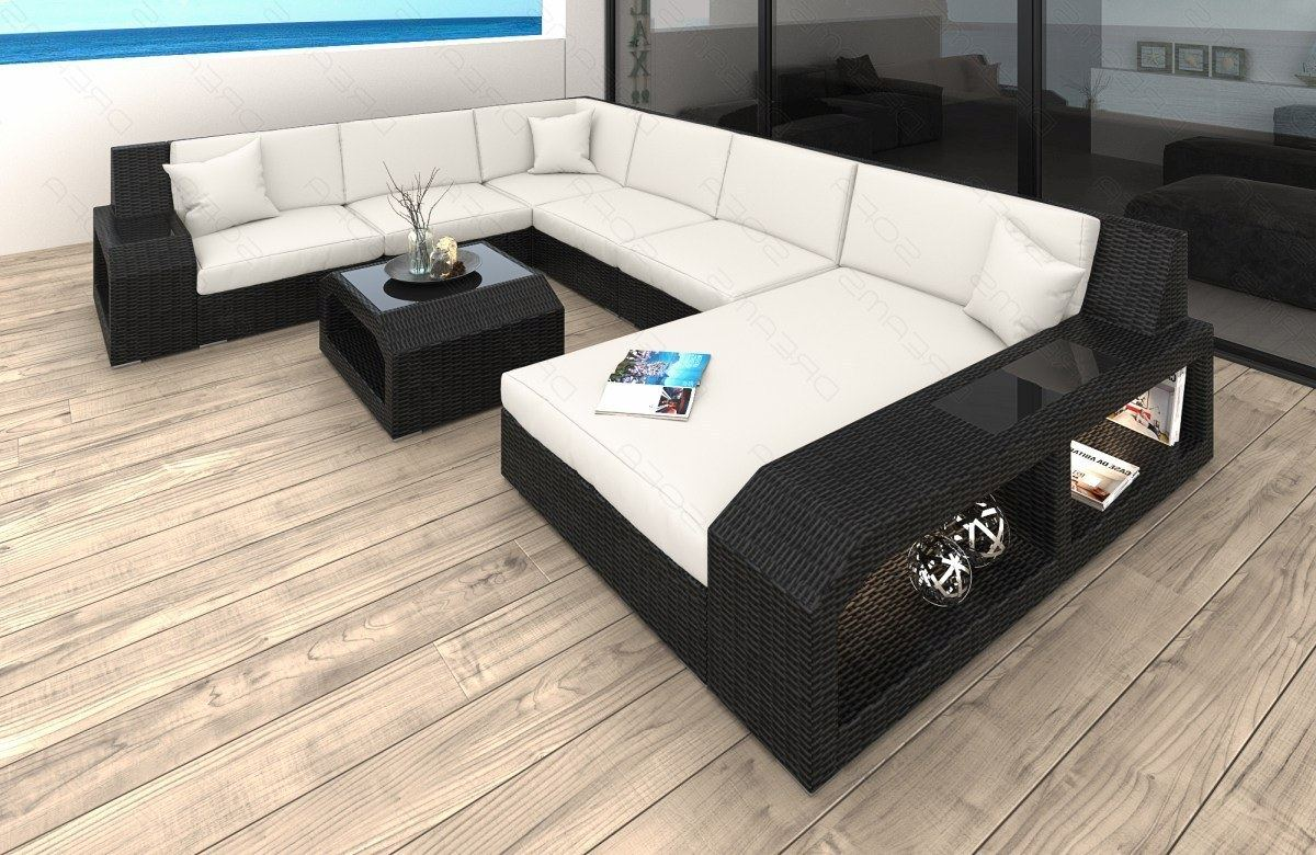 poly rattan sofa matera indoor and outdoor wicker patio. Black Bedroom Furniture Sets. Home Design Ideas