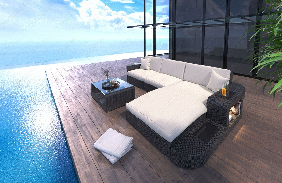 rattan couch garten 17 best ideas about polyrattan sofa. Black Bedroom Furniture Sets. Home Design Ideas