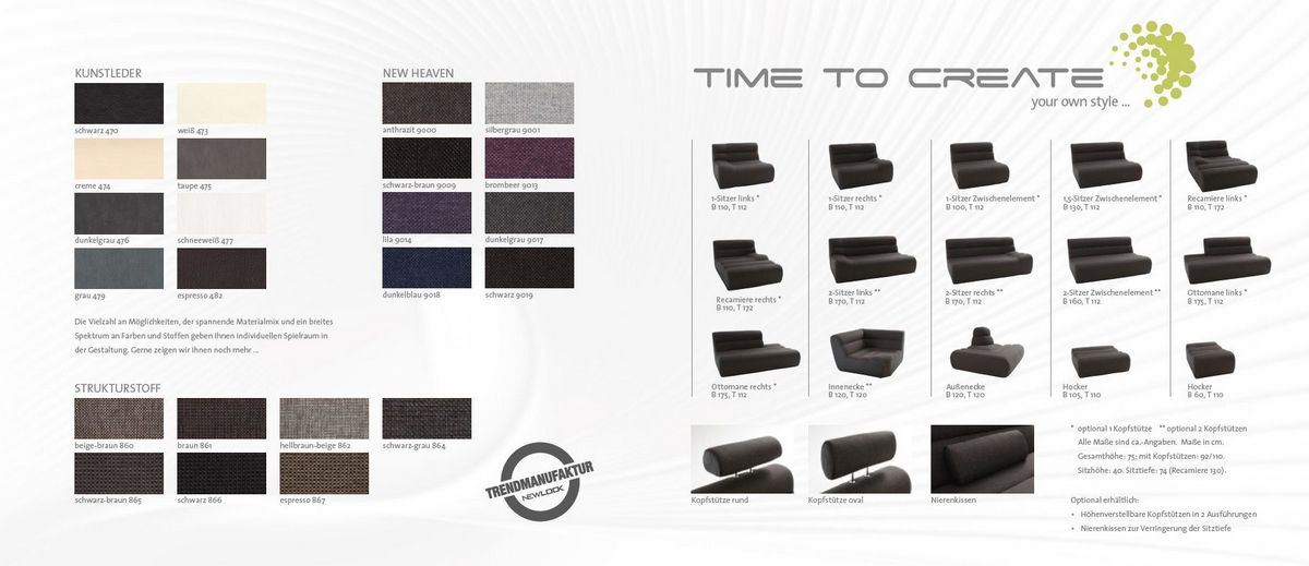 couch elements eight das funktionssofa mit ottomane. Black Bedroom Furniture Sets. Home Design Ideas