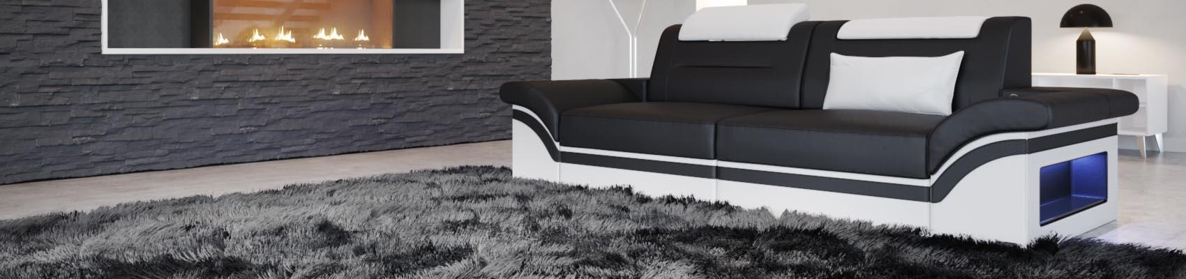 sofas 2 sitzer in echtleder oder stoff sofa dreams. Black Bedroom Furniture Sets. Home Design Ideas