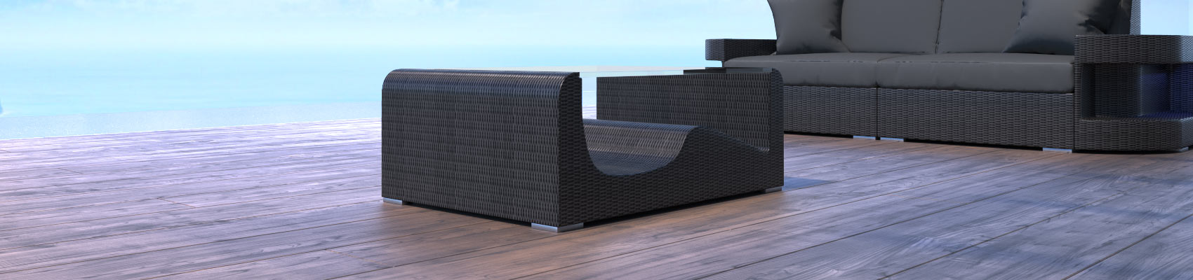 Rattan Tische für Garten, Balkon oder Terrasse | Sofa Dreams