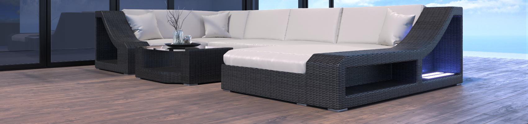 rattan sofas in u form lounge rattansofas sofa dreams. Black Bedroom Furniture Sets. Home Design Ideas