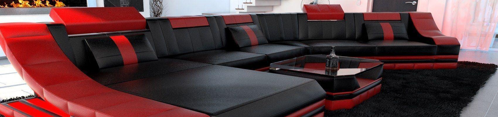 Sofa fertig zusammengestellt