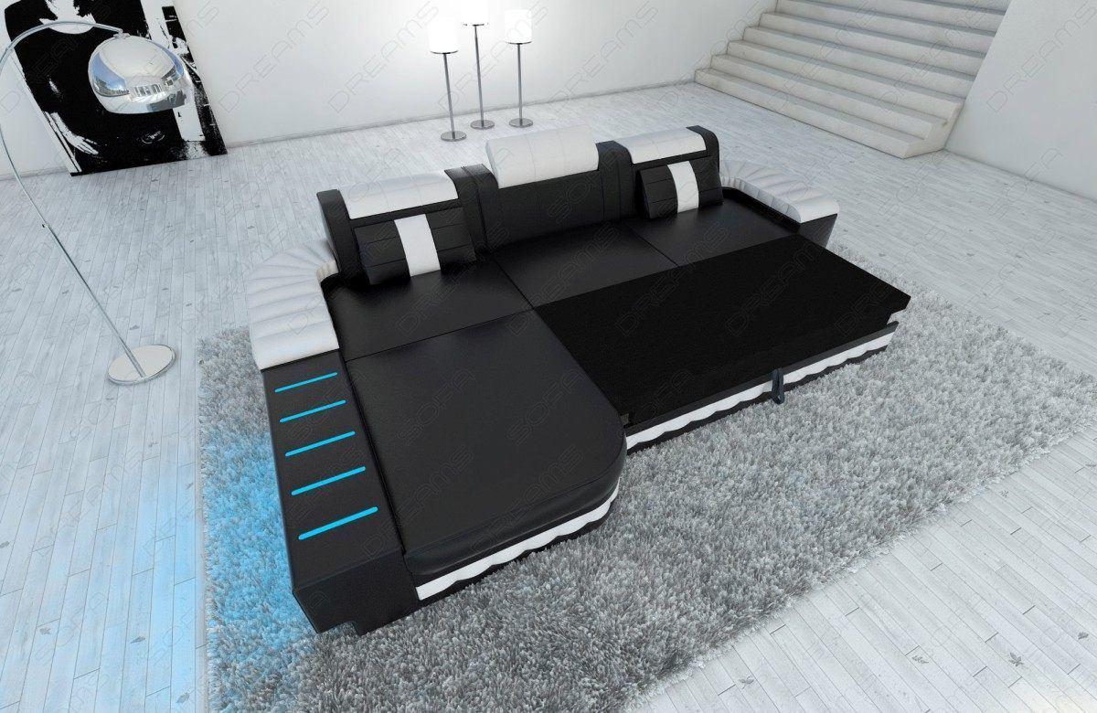 sofas ledersofa designersofa bellagio led l form sofas g nstig online kaufen. Black Bedroom Furniture Sets. Home Design Ideas