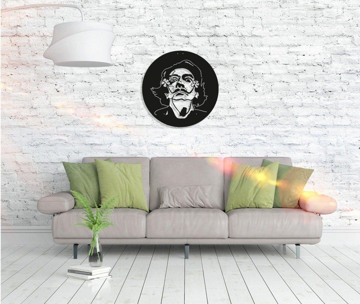 Metall Wandbild - Salvador Dali
