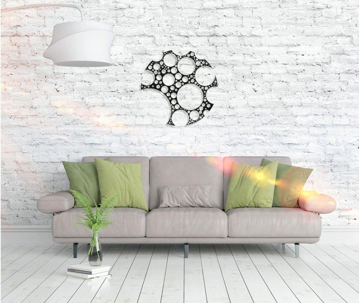 Metall Wandbild - Circles