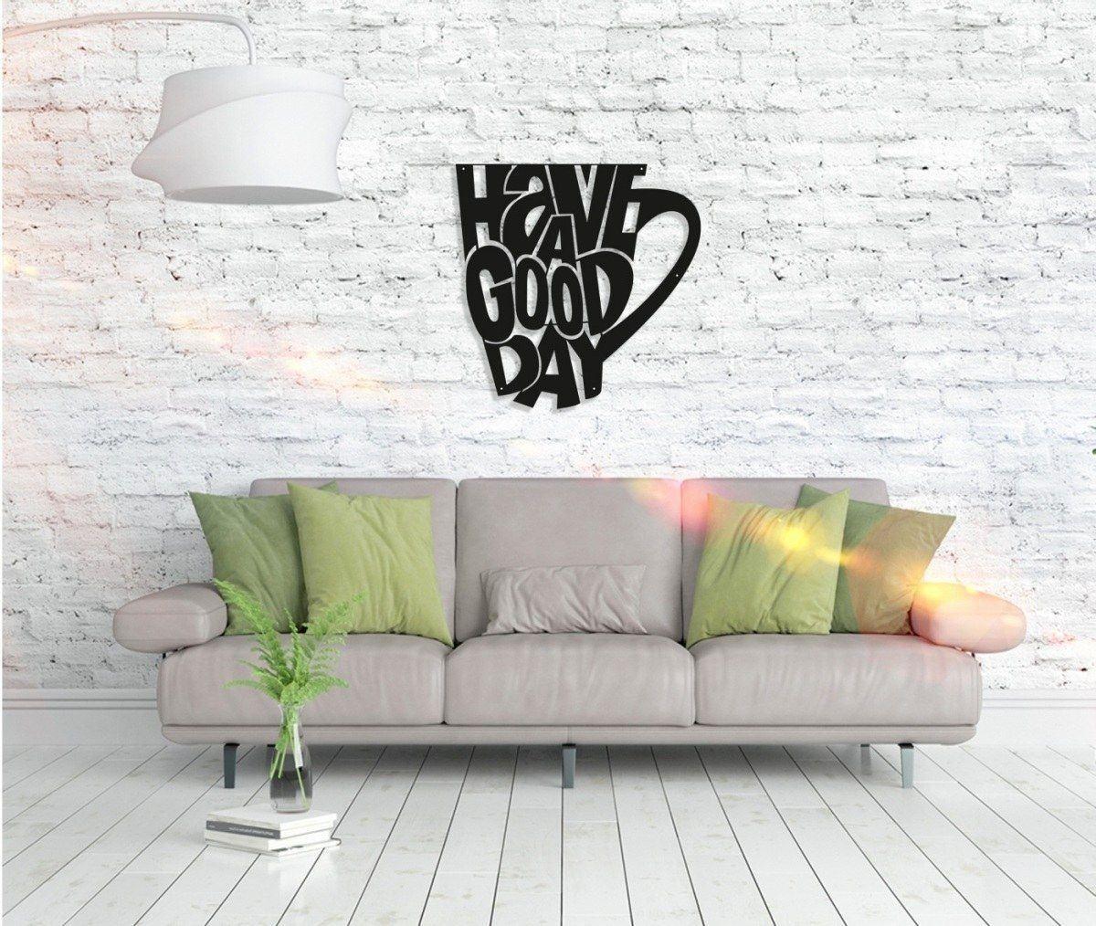 Metall Wandbild - Coffee