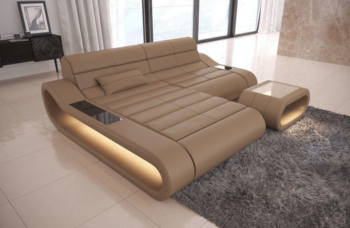 ecksofa concept ledersofa kurz ledersofa l form ledersofas sofas und couches. Black Bedroom Furniture Sets. Home Design Ideas