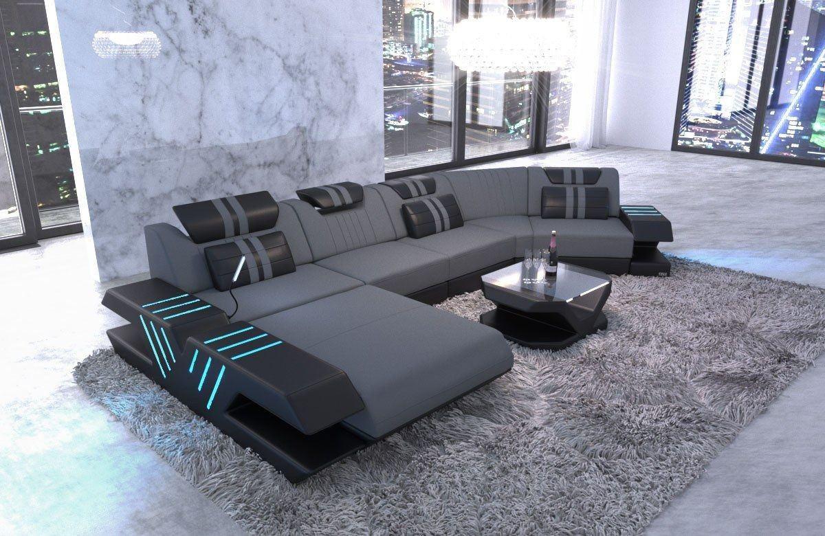 Couch Venedig In Stoff Als C Form Stoffsofa Günstig Bestellen