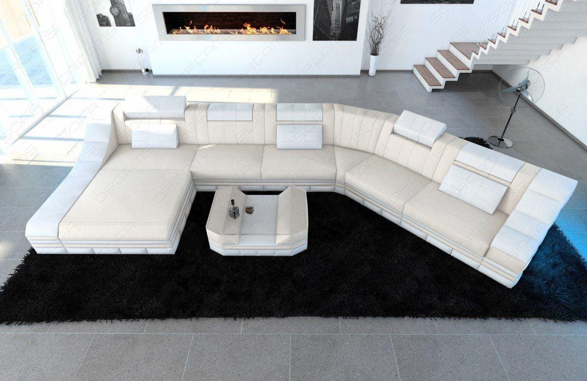 Design Stoff Wohnlandschaft Turino CL Mineva 1
