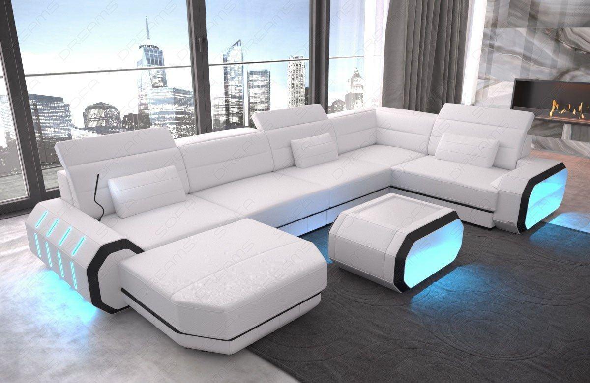 leder wohnlandschaft roma ledersofas u form ledersofas sofas und couches. Black Bedroom Furniture Sets. Home Design Ideas