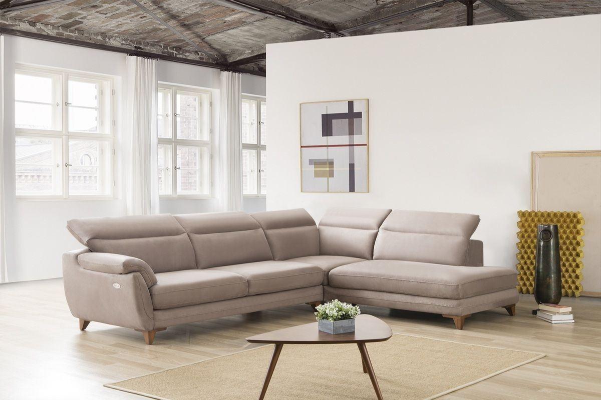 moderne stoff ecksofa erlangen mit mit relaxfunktion. Black Bedroom Furniture Sets. Home Design Ideas