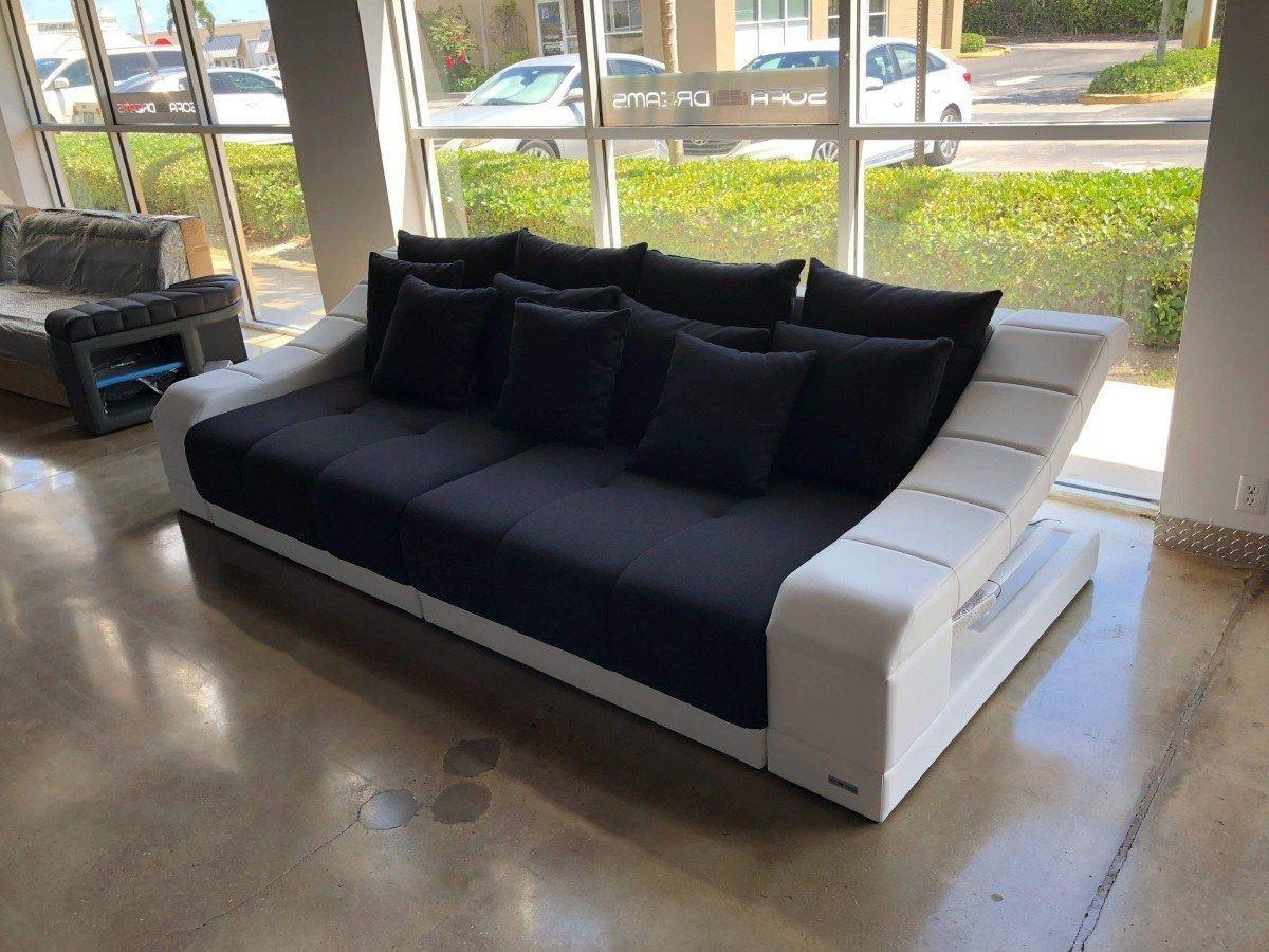 Big Sofa Turino mit LED Beleuchtung