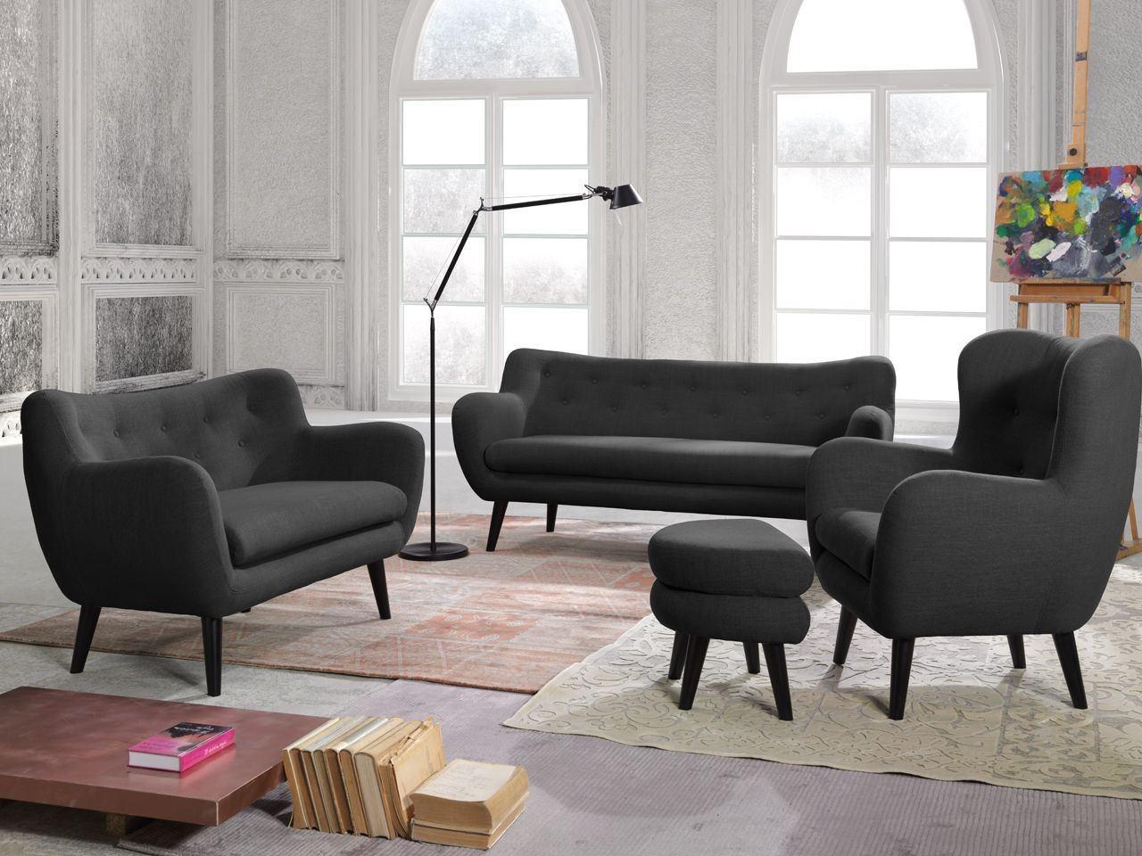 sofagarnitur k ln mit 3er 2er und sessel. Black Bedroom Furniture Sets. Home Design Ideas