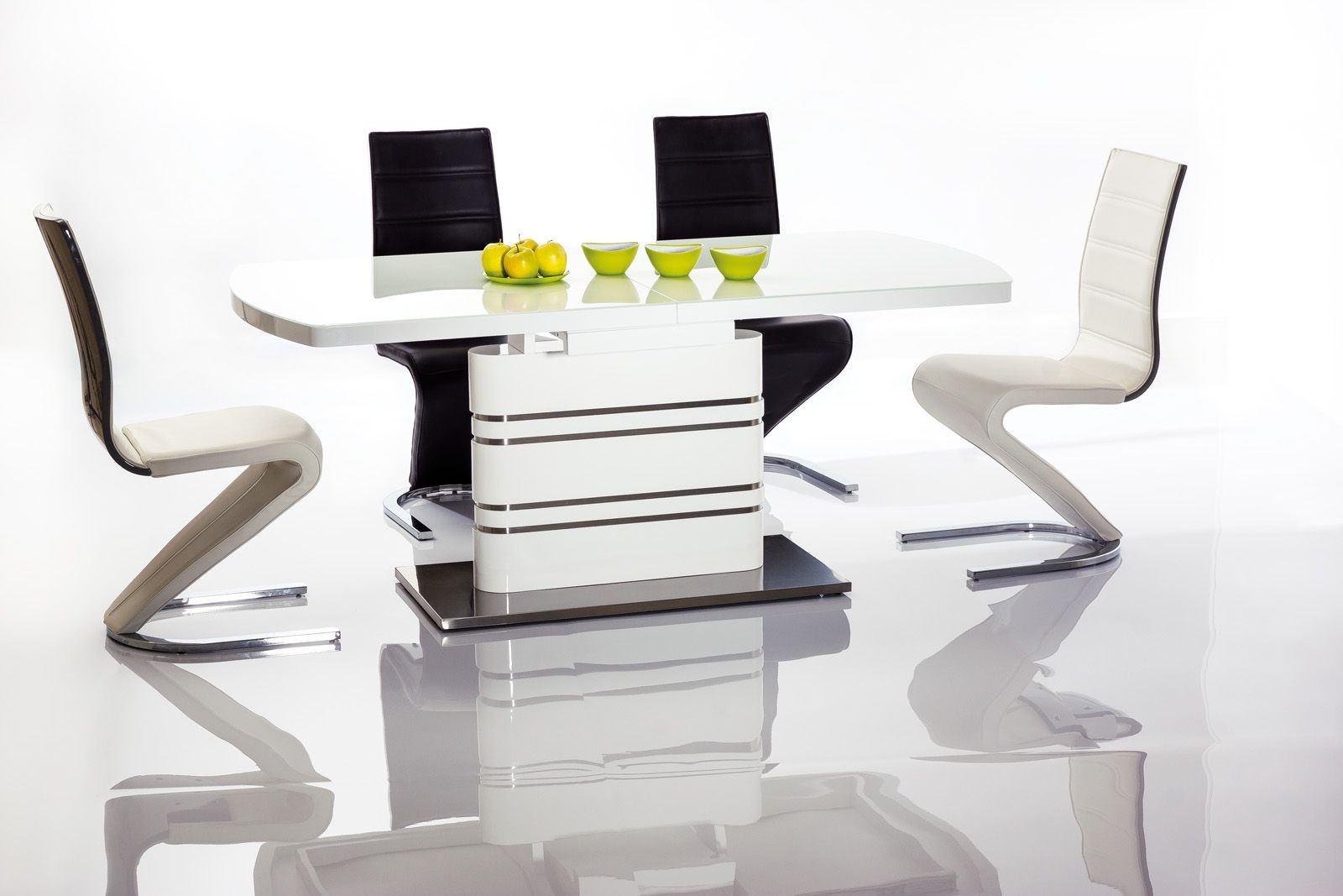 Design Esstisch Elegance weiss