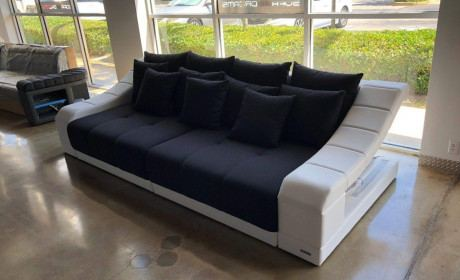 Big Sofa Turino in Stoff