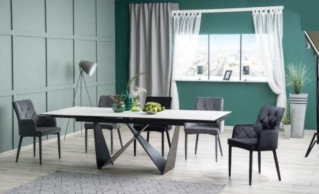 Esstisch mit Keramik Tischplatte Cali One