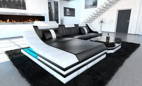 g nstige ledersofas mit kurzer lieferzeit sofa dreams. Black Bedroom Furniture Sets. Home Design Ideas