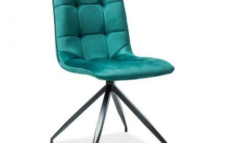 Esszimmer Stuhl Westin gesteppt mit Stoffbezug - grün