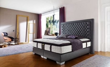 Luxus Boxspringbett Palace