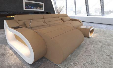 Stoffsofas In L Form Als Modernes Design Ecksofa Sofa Dreams