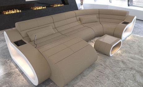 Wohnlandschaften Stoff Microfaser Oder Webstoff Sofa Dreams