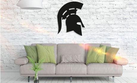 Metall Wandbild - Spartan