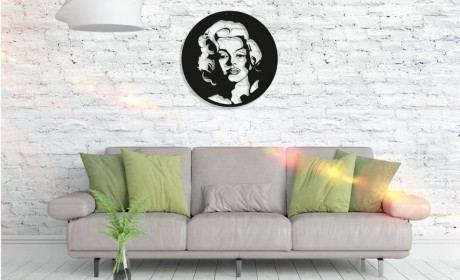 Metall Wandbild - Marilyn Monroe
