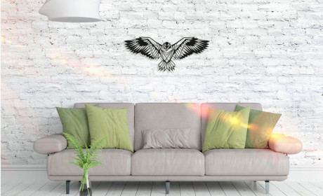 Metall Wandbild - Eagle