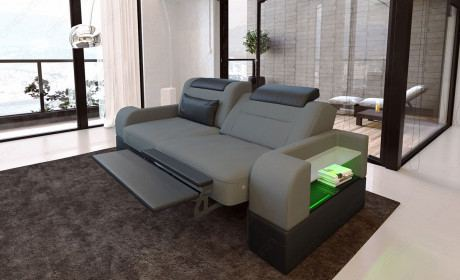 Zweisitzer Sofa Parma Stoff