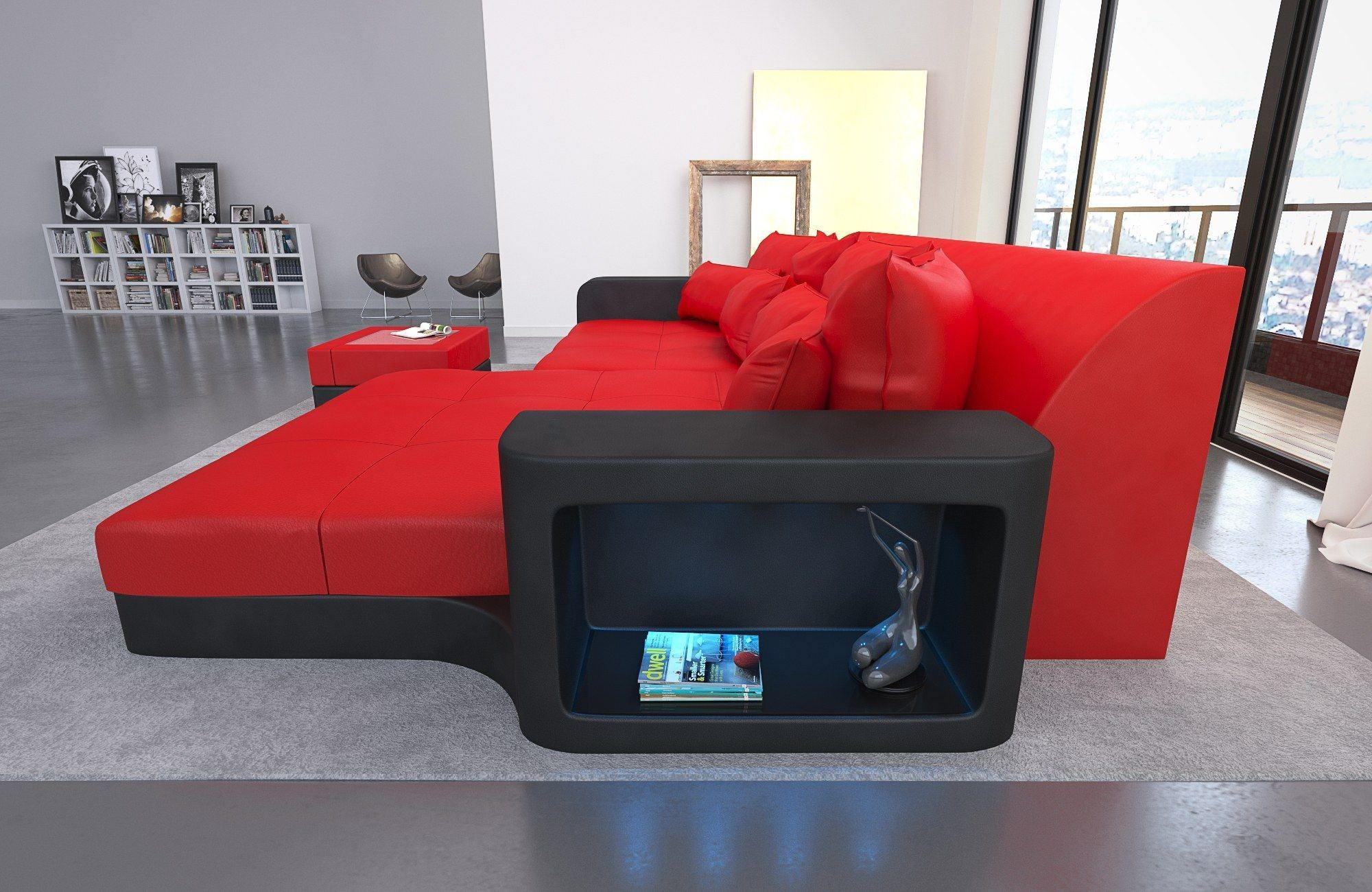 big sofa milano leder sofas und couches. Black Bedroom Furniture Sets. Home Design Ideas