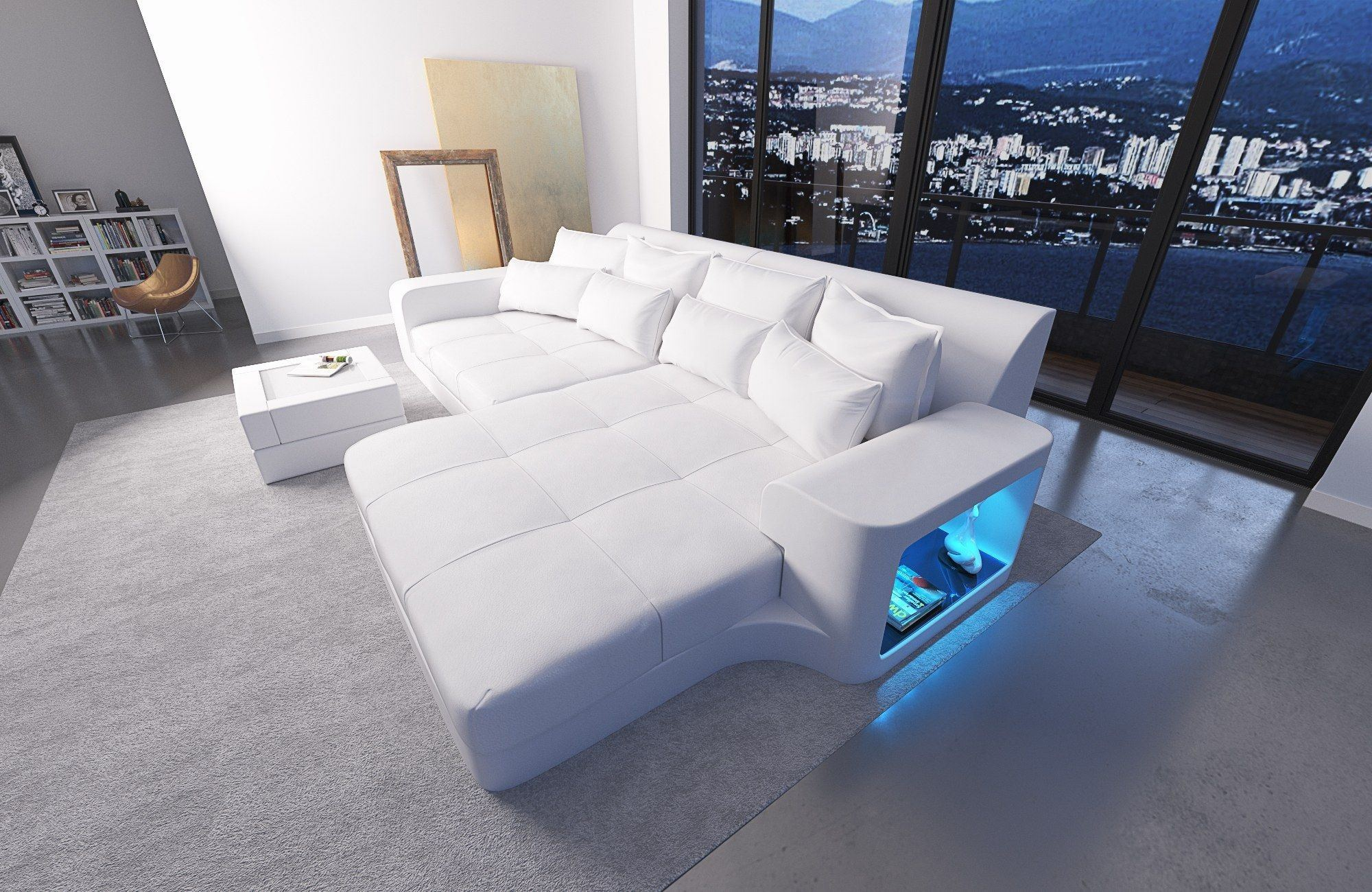 big sofa milano leder sofas und couches. Black Bedroom Furniture Sets. Home Design Ideas