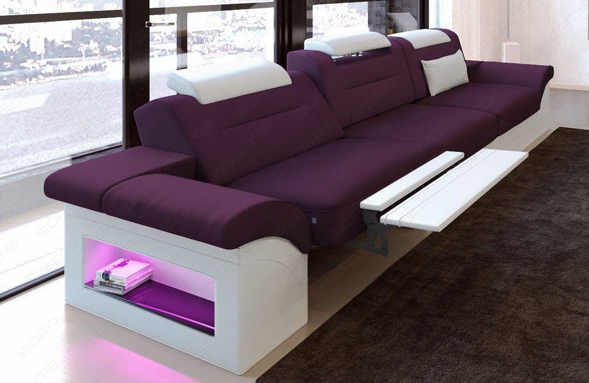 modernes sofa mit stoffbezug 3 sitzer couch zum relaxen. Black Bedroom Furniture Sets. Home Design Ideas