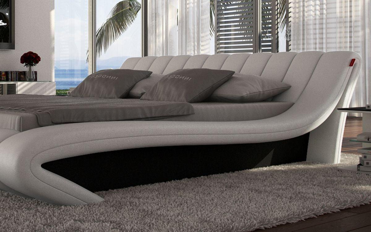 Günstiges Designer Bett Ferrara Mit Led Beleuchtung