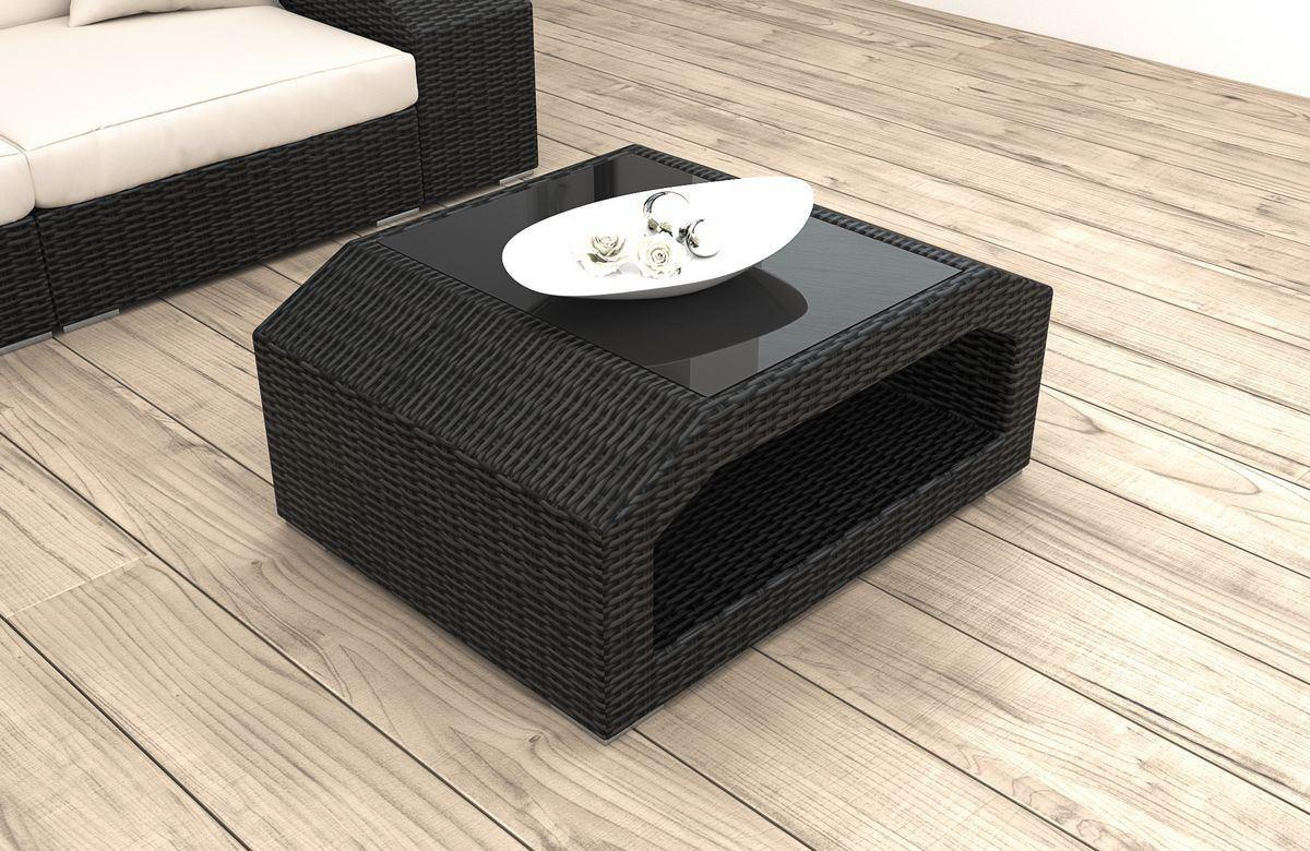Rattan Tisch Matera als Gartenmöbel oder für die Terrasse