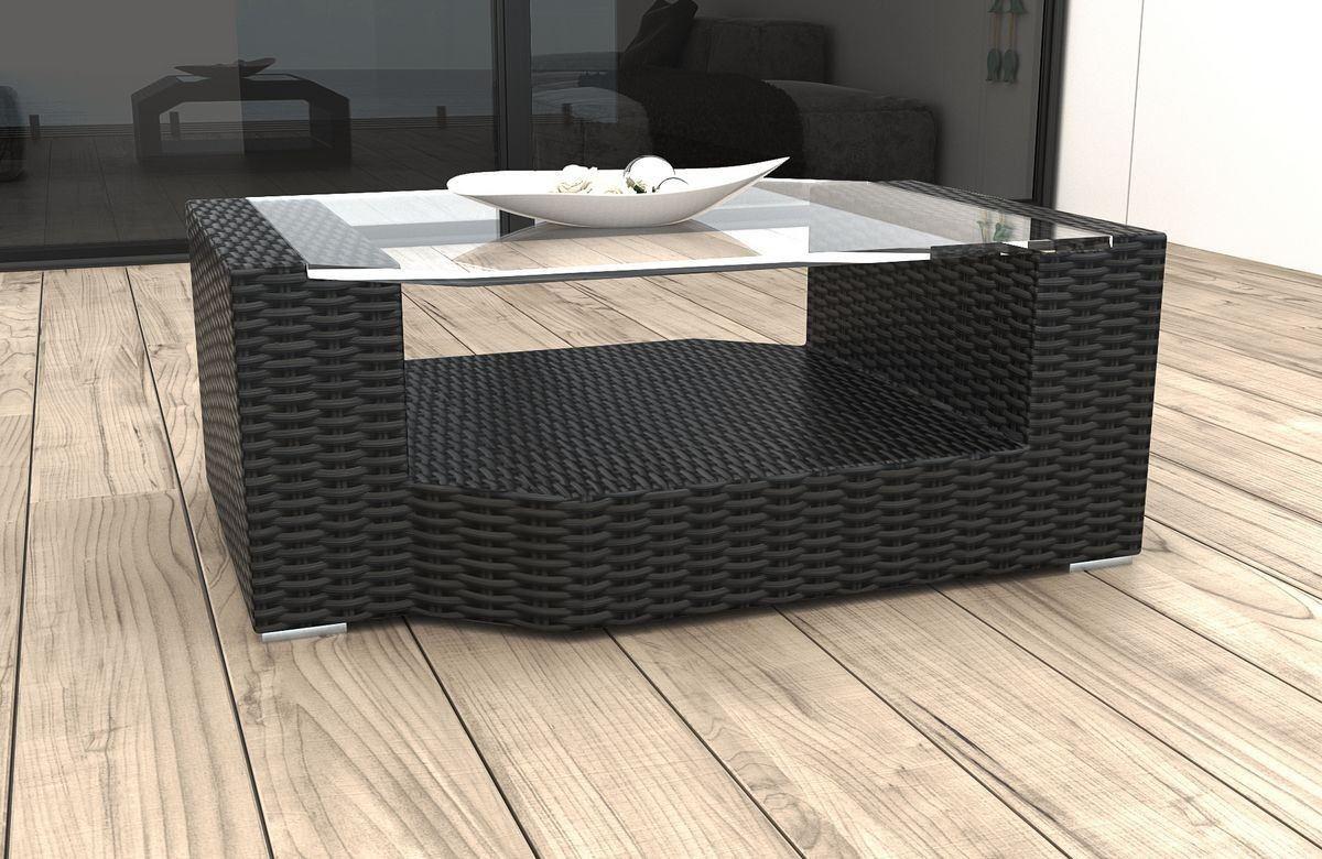 rattan tisch messana f r balkon und garten rattan gartenm bel. Black Bedroom Furniture Sets. Home Design Ideas