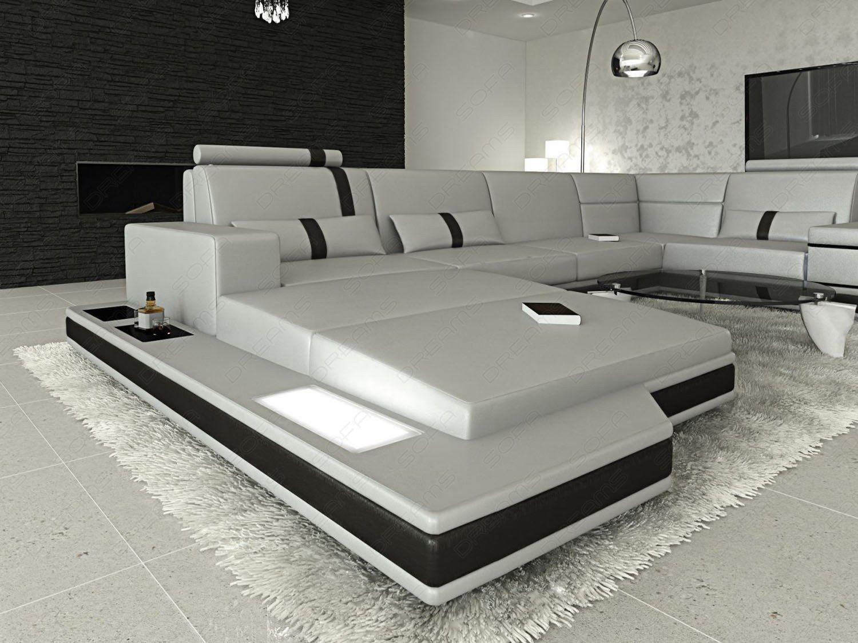 sofa dreams ledersofa wohnlandschaft messana l form. Black Bedroom Furniture Sets. Home Design Ideas