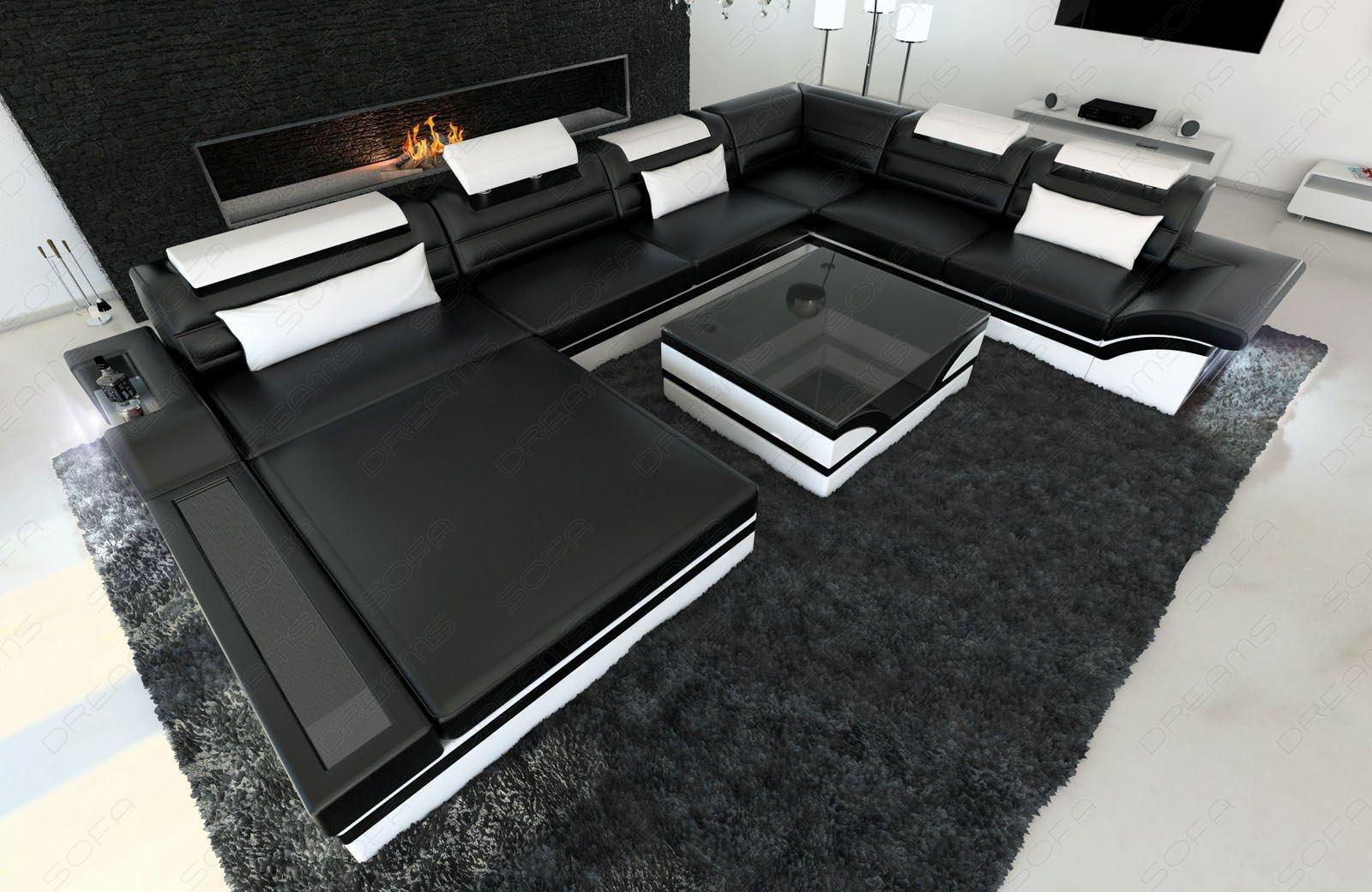 xxl wohnlandschaft mezzo leder sofas und couches. Black Bedroom Furniture Sets. Home Design Ideas