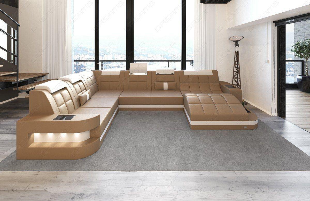 xxl wohnlandschaft wave leder wohnlandschaft leder wohnlandschaften sofas und couches. Black Bedroom Furniture Sets. Home Design Ideas
