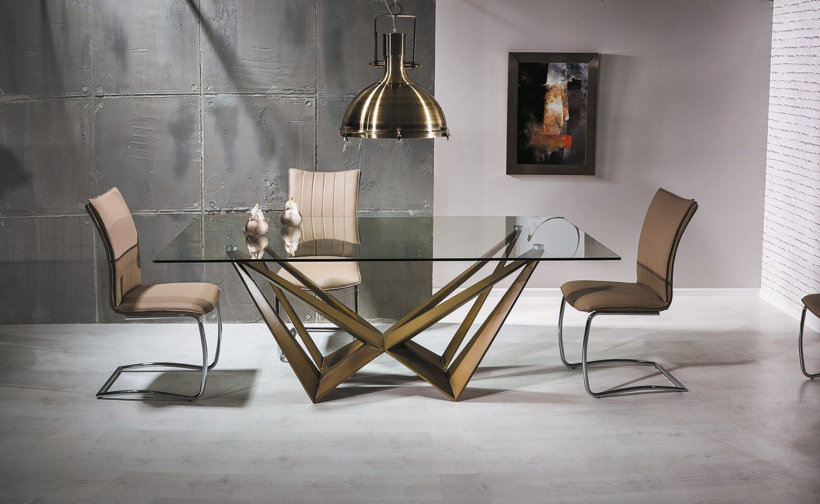 esstisch aston modern. Black Bedroom Furniture Sets. Home Design Ideas