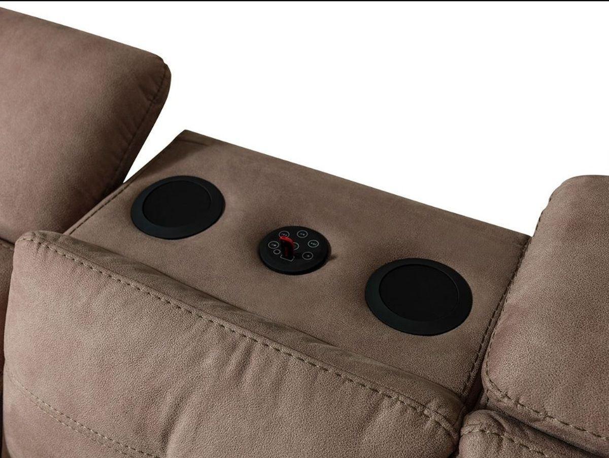 sitzgruppe regensburg ausziehbar mit musikanlage bluetooth und usb. Black Bedroom Furniture Sets. Home Design Ideas