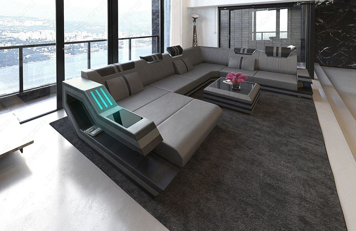 xxl wohnlandschaft ravenna leder wohnlandschaft leder wohnlandschaften sofas und couches. Black Bedroom Furniture Sets. Home Design Ideas