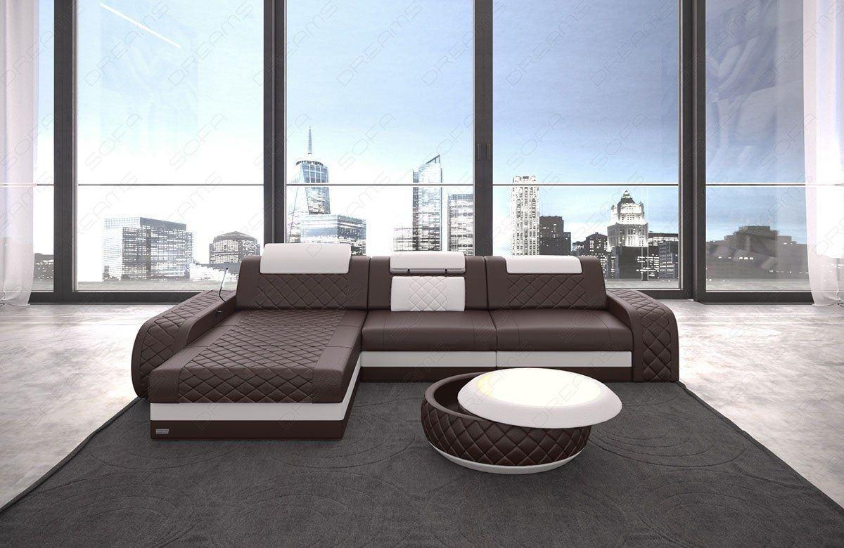 ledersofa berlin ist ein modernes ecksofa in leder als l form. Black Bedroom Furniture Sets. Home Design Ideas
