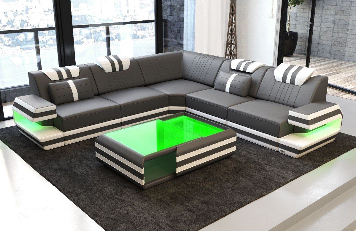 ecksofa ragusa ledersofa ledersofa l form ledersofas sofas und couches. Black Bedroom Furniture Sets. Home Design Ideas