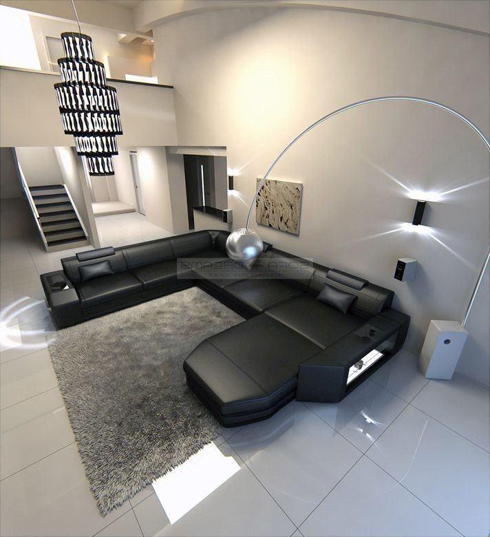 xxl wohnlandschaft prato leder wohnlandschaften sofas und couches. Black Bedroom Furniture Sets. Home Design Ideas