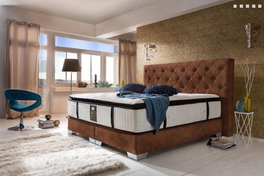 Boxspringbett residence modern hochwertiges designerbett