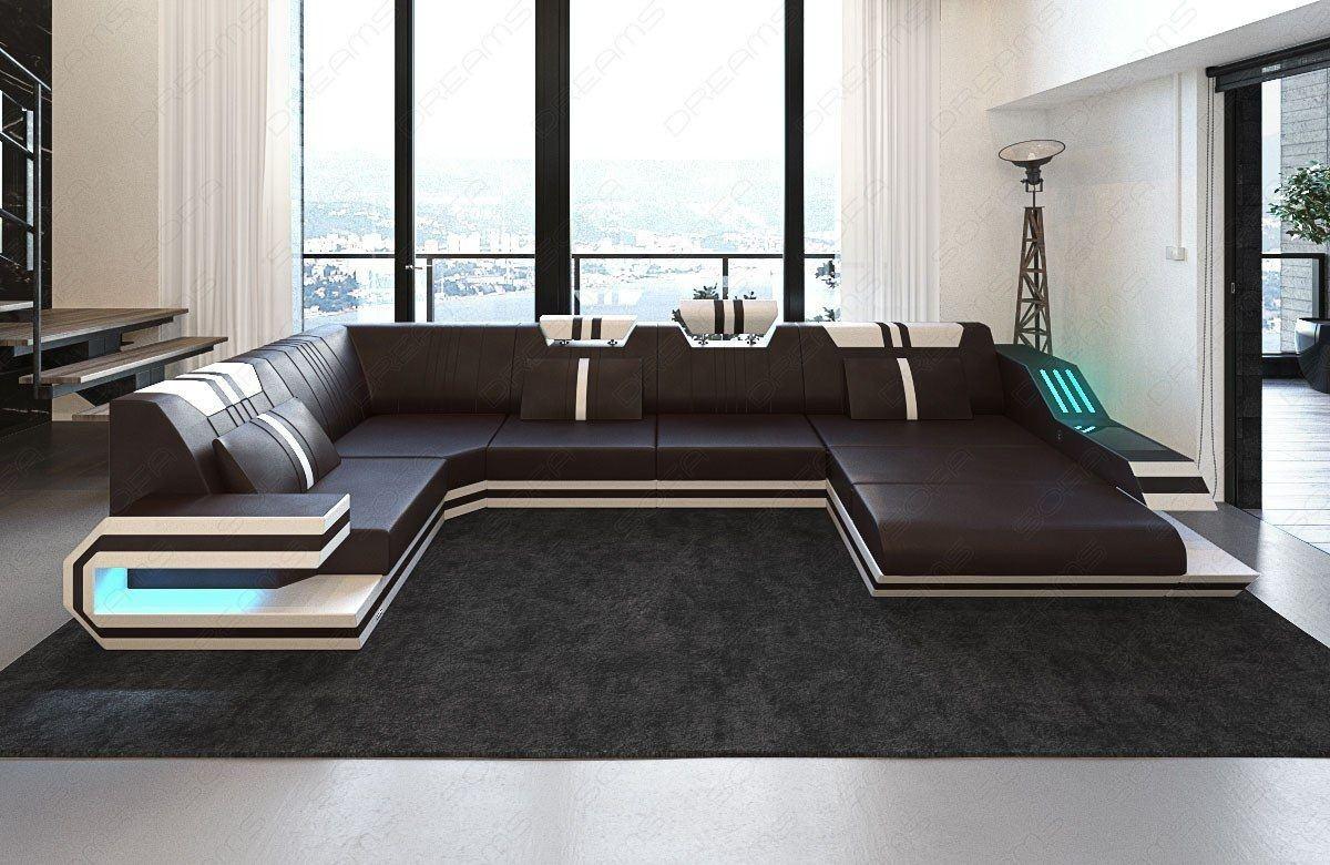 leder wohnlandschaft ravenna wohnlandschaften sofas und couches. Black Bedroom Furniture Sets. Home Design Ideas